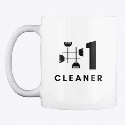 No 1 Cleaner, Savvy Cleaner Funny Cleaning Gifts, Cleaning Mug