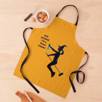 Pretend I'm a House Cleaner, Savvy Cleaner Funny Cleaning Gifts, Cleaning Apron