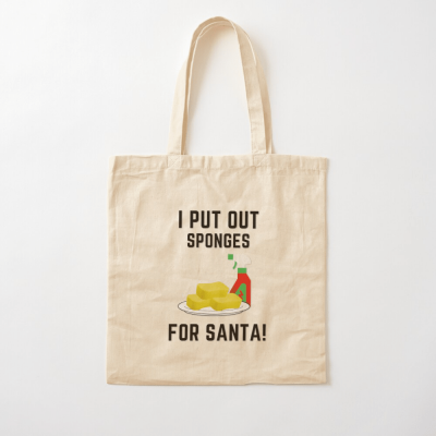 Sponges for Santa, Savvy Cleaner Funny Cleaning Gifts, Cleaning Cotton Tote Bag