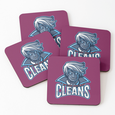 The One Who Cleans, Savvy Cleaner Funny Cleaning Gifts, Cleaning Coasters