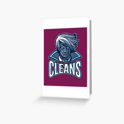 The One Who Cleans, Savvy Cleaner Funny Cleaning Gifts, Cleaning Greeting Card
