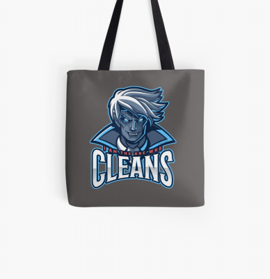 The One Who Cleans, Savvy Cleaner Funny Cleaning Gifts, Cleaning Tote Bag