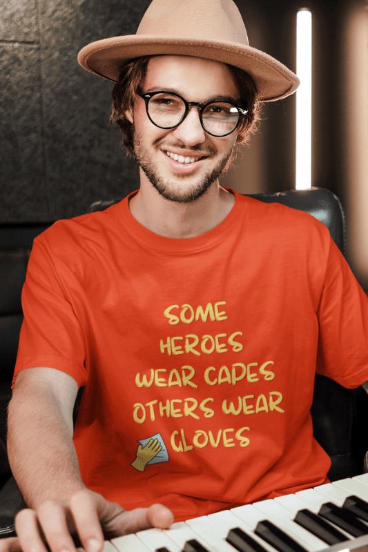 A Heroes Gloves Savvy Cleaner Funny Cleaning Shirts Classic T-Shirt