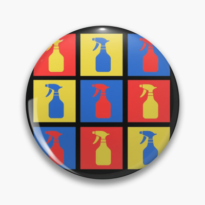 Andy SprayAll, Savvy Cleaner, Funny Cleaning Gifts, Cleaning Button