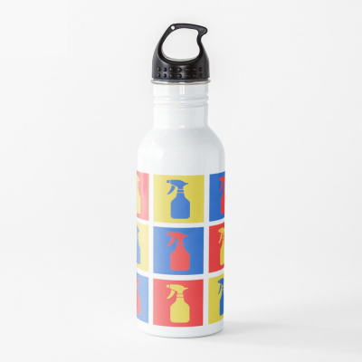Andy SprayAll, Savvy Cleaner, Funny Cleaning Gifts, Cleaning Water Bottle