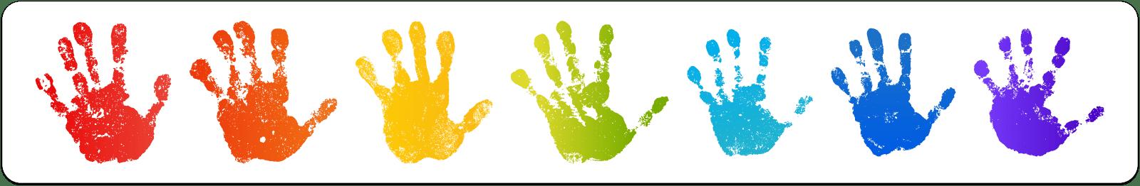 Finger Paint Banner