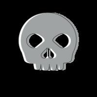 Grey Skull Snippet