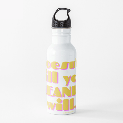 If Karma, Savvy Cleaner Funny Cleaning Gifts, Cleaning Water Bottle