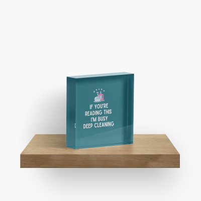 Im Busy Deep Cleaning, Savvy Cleaner Funny Cleaning Gifts, Cleaning Cleaning Cube