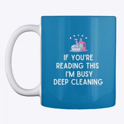 Im Busy Deep Cleaning, Savvy Cleaner Funny Cleaning Gifts, Cleaning Mug