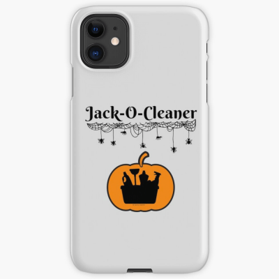 Jack-O-Cleaner, Savvy Cleaner Funny Cleaning Gifts, Cleaning Iphone Case
