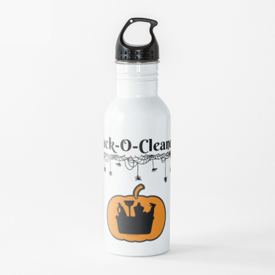 Jack-O-Cleaner, Savvy Cleaner Funny Cleaning Gifts, Cleaning Water Bottle