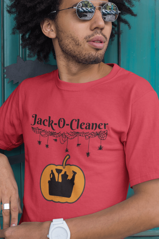 Jack-O-Cleaner, Savvy Cleaner Funny Cleaning Shirts, Triblend T-Shirt