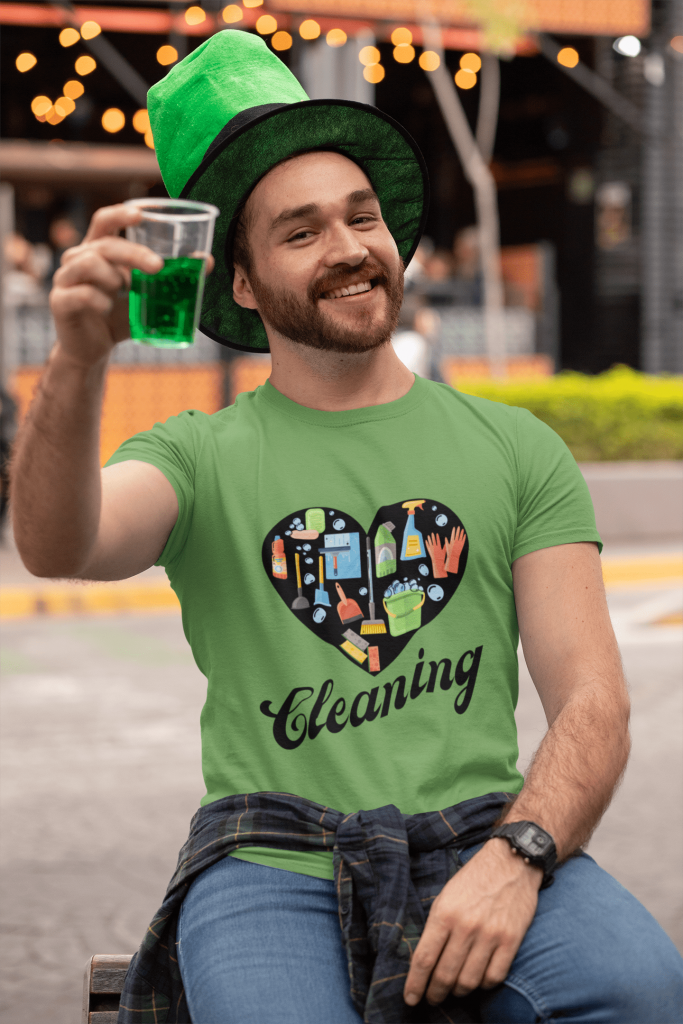 Love Cleaning Savvy Cleaner Funny Cleaning Shirts Standard T-shirt