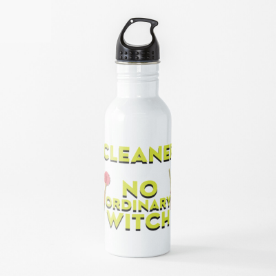 No Ordinary Witch, Savvy Cleaner Funny Cleaning Gifts, Cleaning Water Bottle