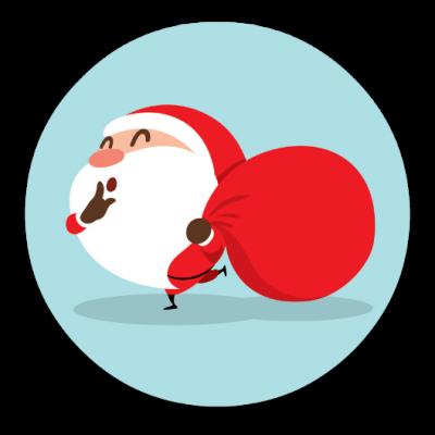 Santa Ball 9