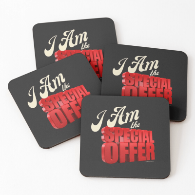 Special Offer, Savvy Cleaner, Funny Cleaning Gifts, Cleaning Coasters