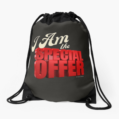 Special Offer, Savvy Cleaner, Funny Cleaning Gifts, Cleaning Drawstring Bag