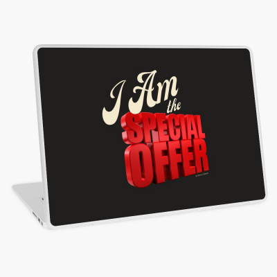 Special Offer, Savvy Cleaner, Funny Cleaning Gifts, Cleaning Laptop Skin