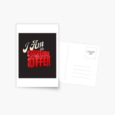 Special Offer, Savvy Cleaner, Funny Cleaning Gifts, Cleaning Postcard