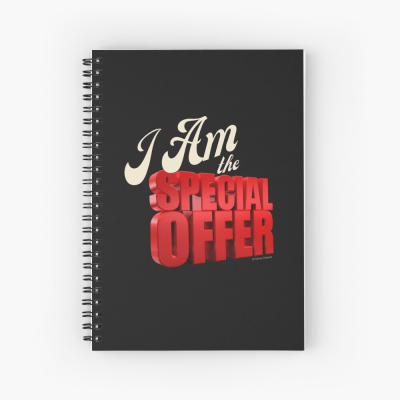 Special Offer, Savvy Cleaner, Funny Cleaning Gifts, Cleaning Spiral Notepad