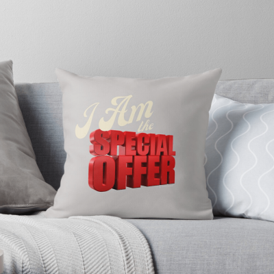 Special Offer, Savvy Cleaner, Funny Cleaning Gifts, Cleaning Throw Pillow