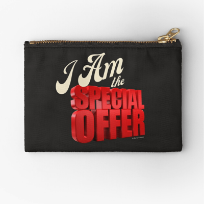 Special Offer, Savvy Cleaner, Funny Cleaning Gifts, Cleaning Zipper Bag