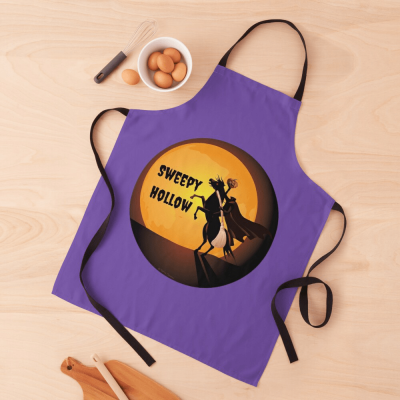 Sweepy Hollow, Savvy Cleaner Funny Cleaning Gifts, Cleaning Apron