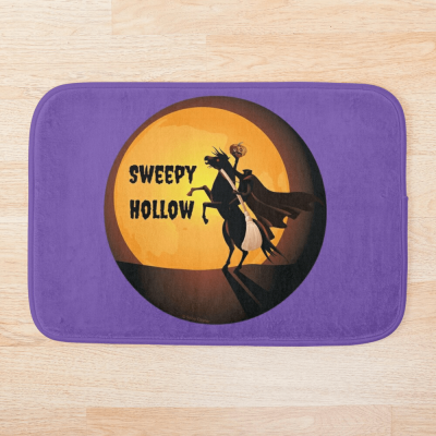 Sweepy Hollow, Savvy Cleaner Funny Cleaning Gifts, Cleaning Bathmat