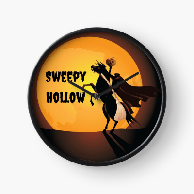 Sweepy Hollow, Savvy Cleaner Funny Cleaning Gifts, Cleaning Clock
