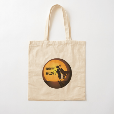 Sweepy Hollow, Savvy Cleaner Funny Cleaning Gifts, Cleaning Cotton Tote Bag