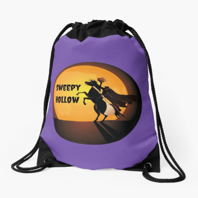 Sweepy Hollow, Savvy Cleaner Funny Cleaning Gifts, Cleaning Drawstring Bag