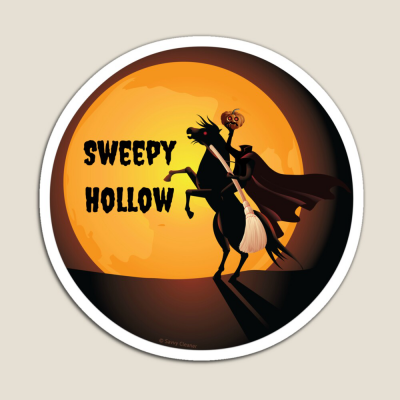 Sweepy Hollow, Savvy Cleaner Funny Cleaning Gifts, Cleaning Magnet