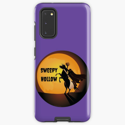 Sweepy Hollow, Savvy Cleaner Funny Cleaning Gifts, Cleaning Samsung Galaxy Phone Case