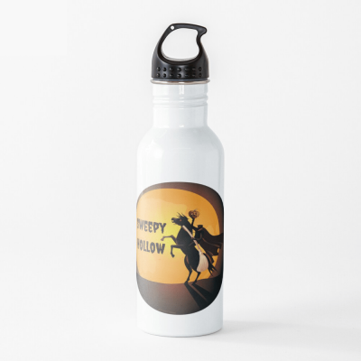 Sweepy Hollow, Savvy Cleaner Funny Cleaning Gifts, Cleaning Water Bottle