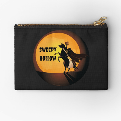 Sweepy Hollow, Savvy Cleaner Funny Cleaning Gifts, Cleaning Zipper Bag