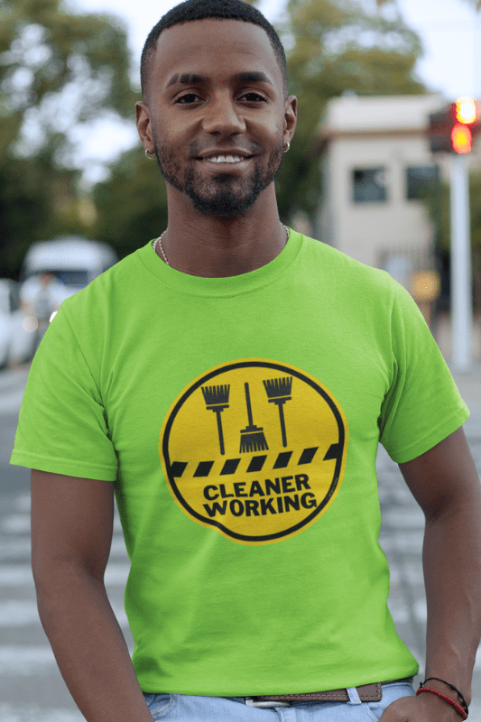 Cleaner Working Savvy Cleaner Funny Cleaning Shirts Classic T-Shirt