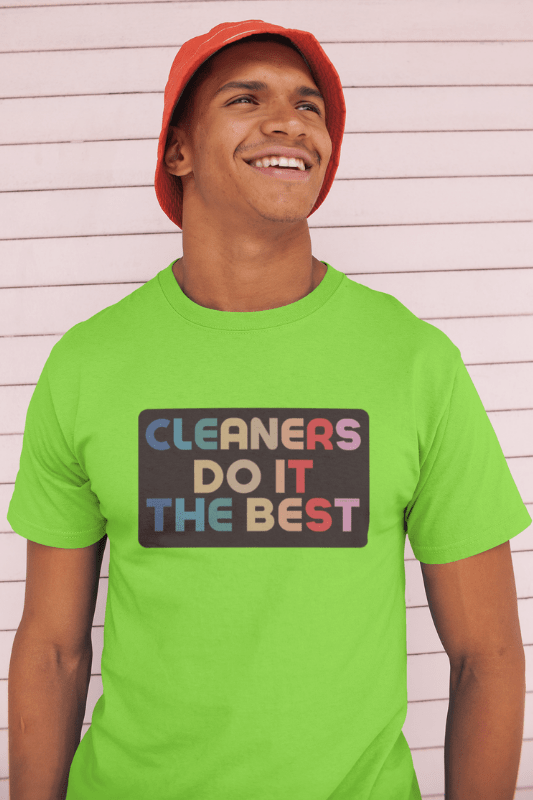 Cleaners Do It Best Savvy Cleaner Funny Cleaning Shirts Classic T-Shirt