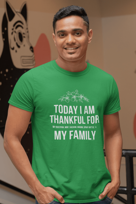 I Am Thankful Savvy Cleaner Funny Cleaning Shirts Premium T-Shirt
