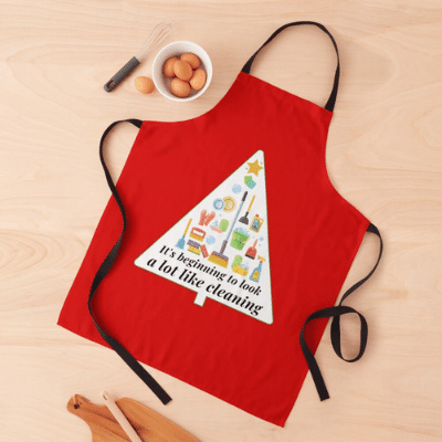 Look A Lot Like Cleaning Savvy Cleaner Funny Cleaning Gifts Apron