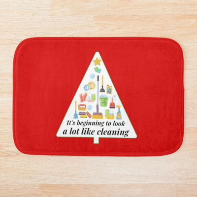 Look A Lot Like Cleaning Savvy Cleaner Funny Cleaning Gifts Bathmat