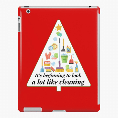 Look A Lot Like Cleaning Savvy Cleaner Funny Cleaning Gifts Ipad Case