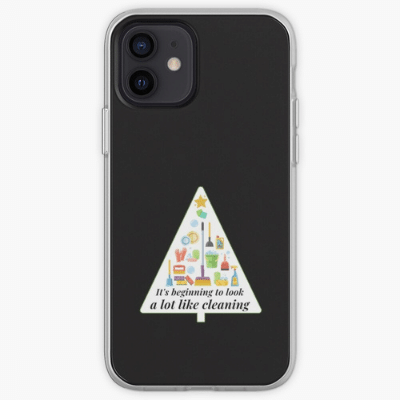 Look A Lot Like Cleaning Savvy Cleaner Funny Cleaning Gifts Iphone Case