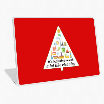Look A Lot Like Cleaning Savvy Cleaner Funny Cleaning Gifts Laptop Skin