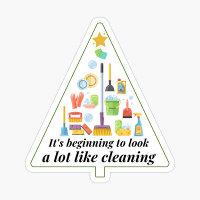 Look A Lot Like Cleaning Savvy Cleaner Funny Cleaning Gifts Sticker