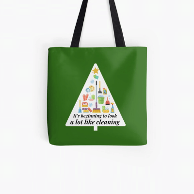 Look A Lot Like Cleaning Savvy Cleaner Funny Cleaning Gifts Tote Bag