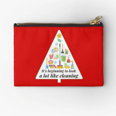 Look A Lot Like Cleaning Savvy Cleaner Funny Cleaning Gifts Zipper Bag
