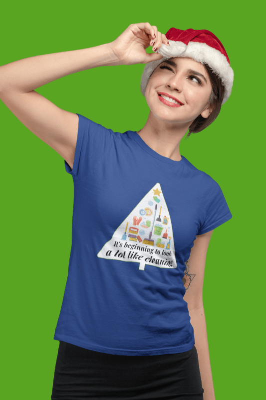 Look A Lot Like Cleaning Savvy Cleaner Funny Cleaning Shirts Women's Comfort T-Shirt