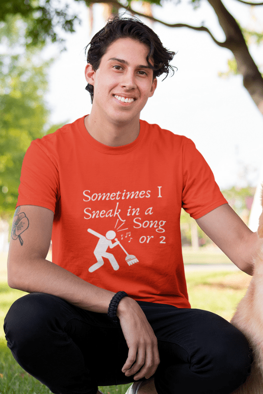Sneak in a Song Savvy Cleaner Funny Cleaning Shirts Comfort T-Shirt