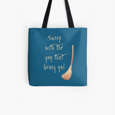 Sweep With The Guy Savvy Cleaner Funny Cleaning Gifts Tote Bag